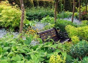 оформляем зону отдыха в саду